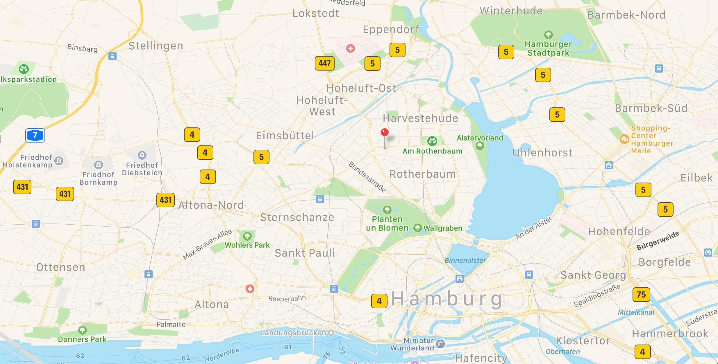 Anfahrt zu Diether Hinz GmbH